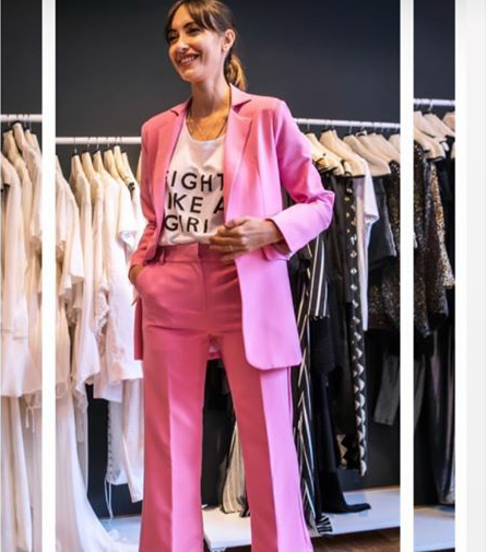 Doll Store traje fucsia para mujer verano 2020
