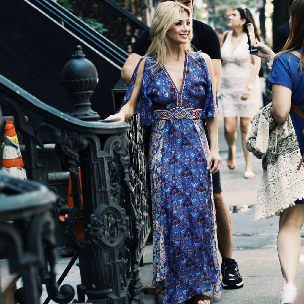 Vestido bohemio largo verano 2020 VARS Moda