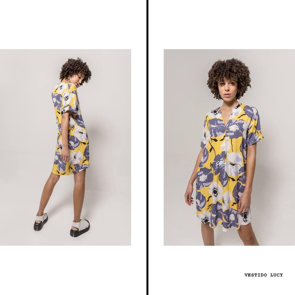 Vestido casual estampado La cofradia verano 2020