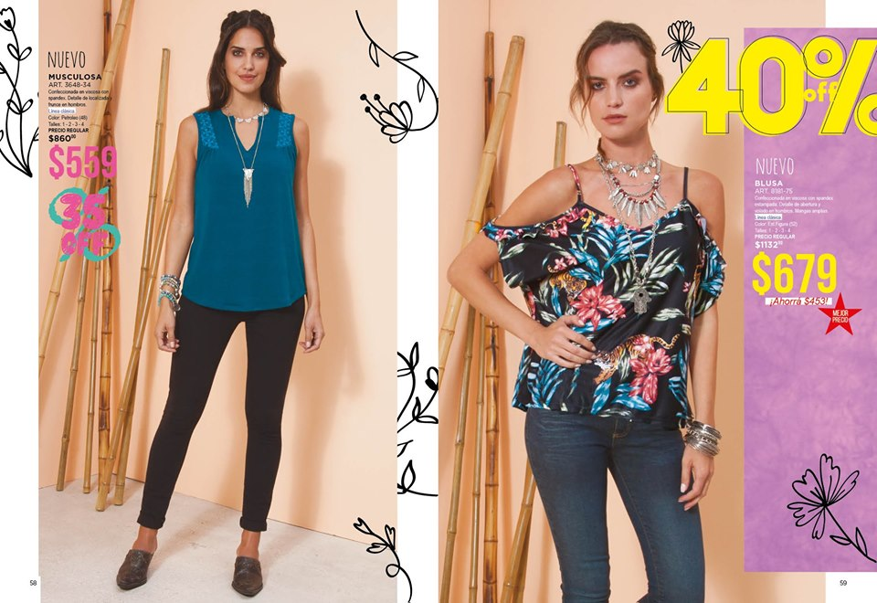 blusas y jeans mujer Juana bonita primavera verano 2020
