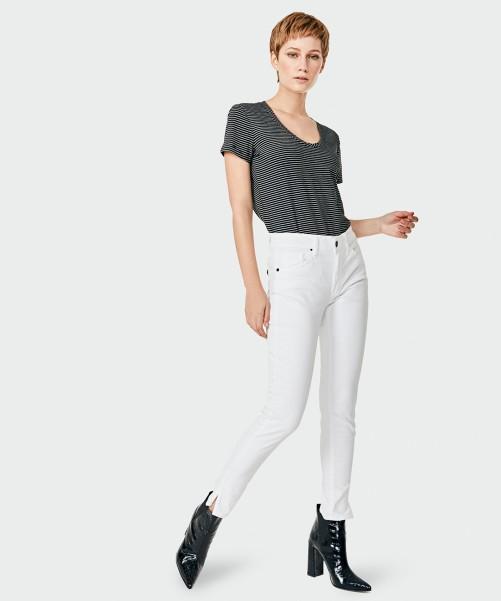 jeans blanco kosiuko primavera verano 2020