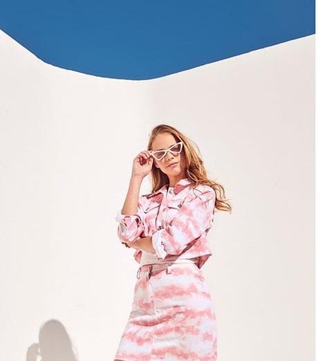 minifalda y campera jeans batick verano 2020 Naif