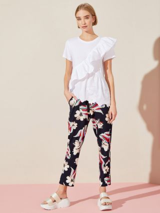 pantalones estampados mujer Jazmin chebar verano 2020