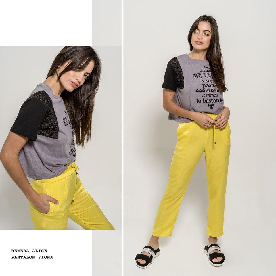 pantalones largos casual mujer La cofradia verano 2020