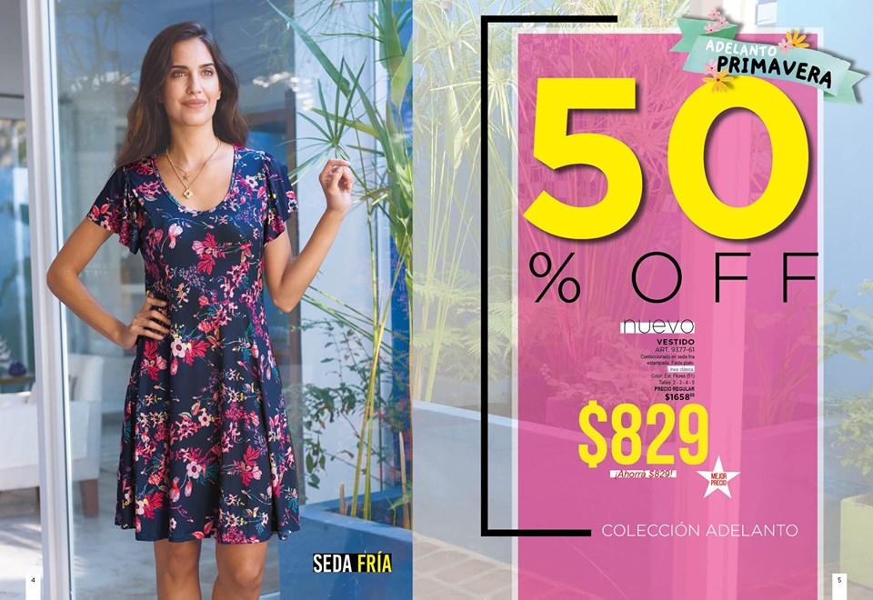 vestido corto estampado floral Juana bonita primavera verano 2020