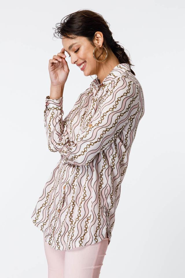 Camisa mujer estampa cadena verano 2020 Sans Doute