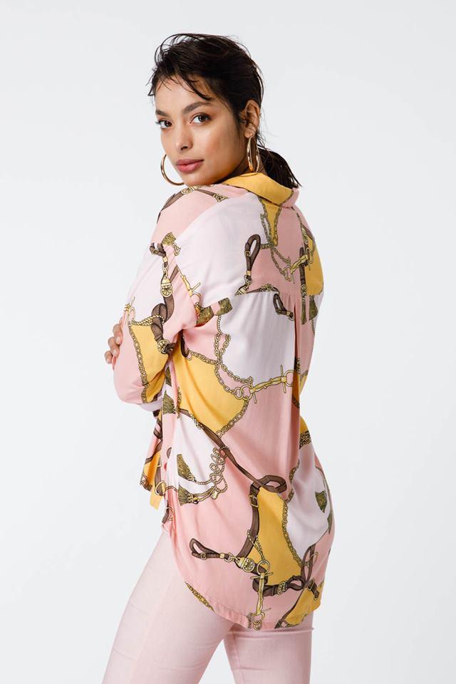 Camisa mujer estampa verano 2020 Sans Doute