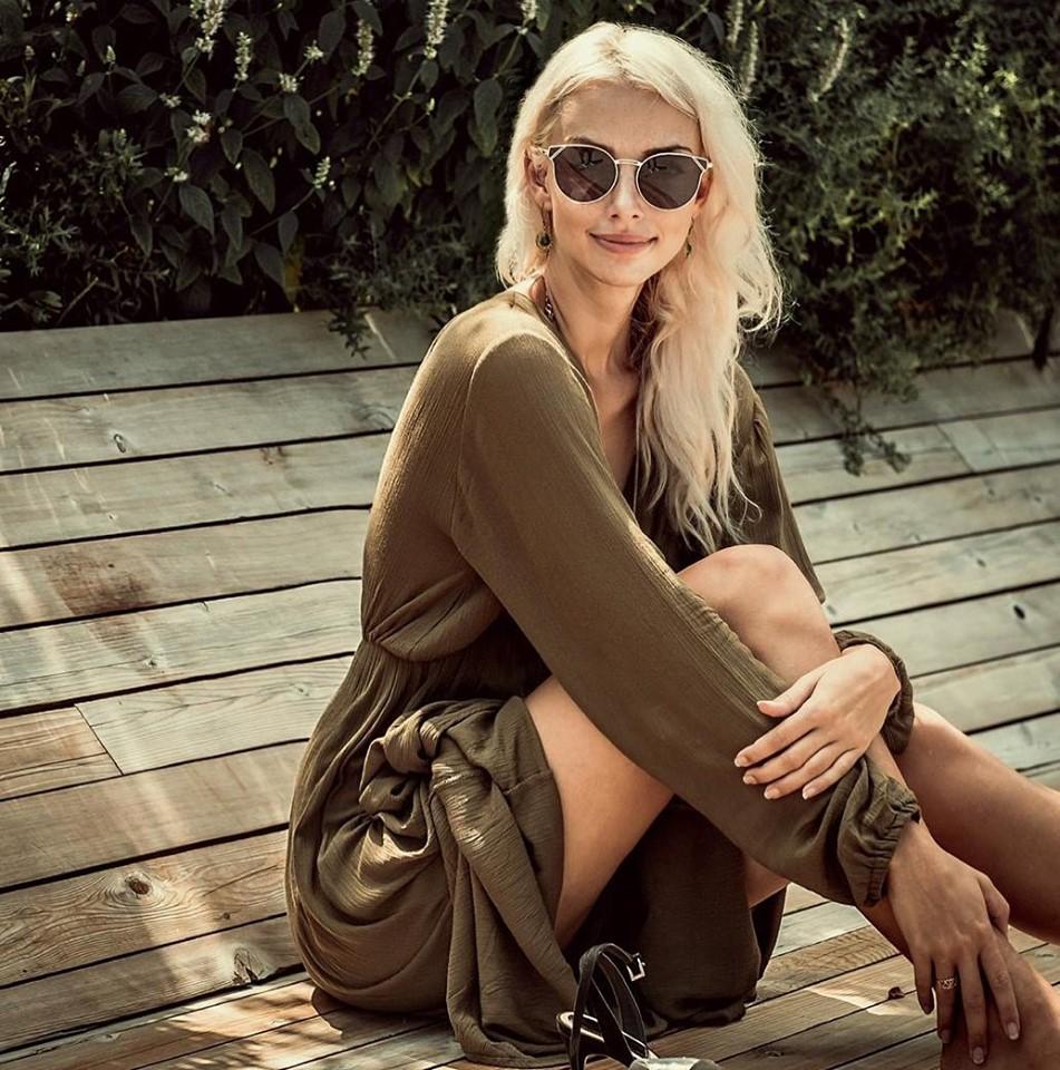 Infinit Eyewear lentes de sol bordes dorados