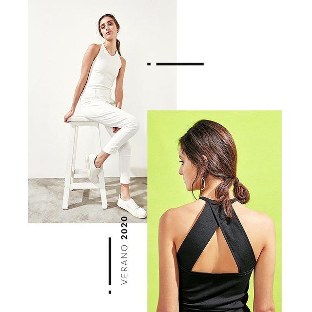 Look elegantes y modernos mujer verano 2020 Anonimas
