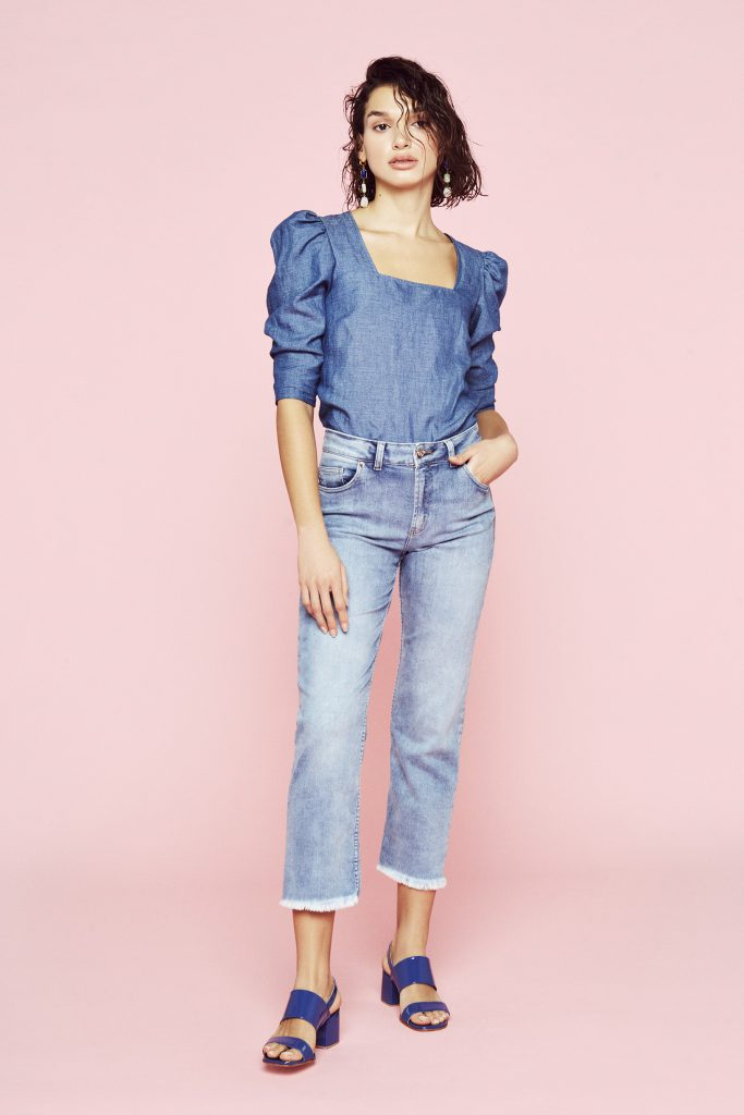 Look total denim verano 2020 clara ibarguren