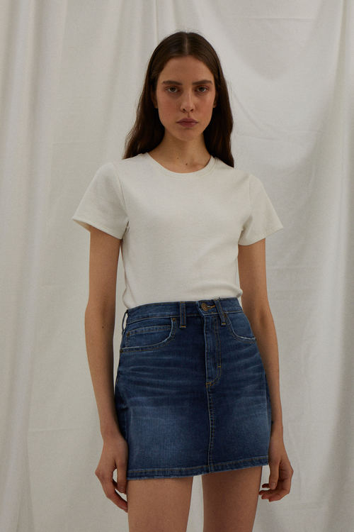 Minifalda jeans verano 2020 Ay Not Dead