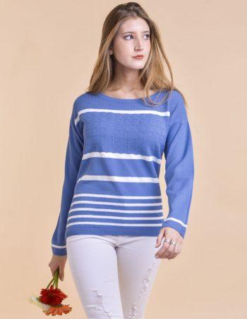 Sweater a rayas mujer verano 2020 Mauro sergio