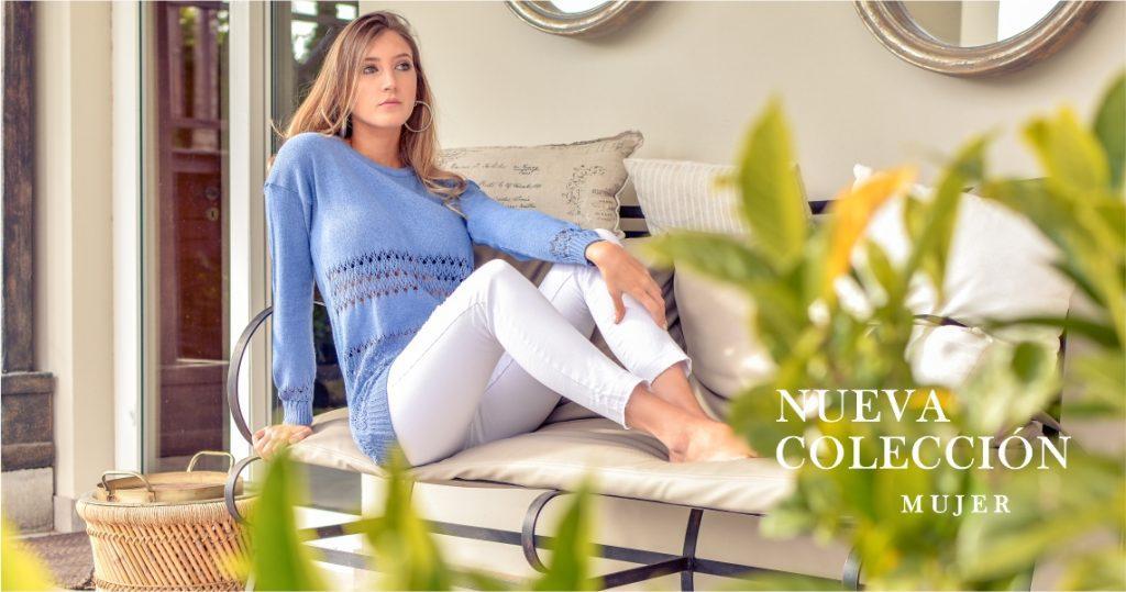 Sweater calado tejido verano 2020 Mauro sergio