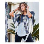 Blusas, kimonos y vestidos estampados primavera verano 2020 by Exordio