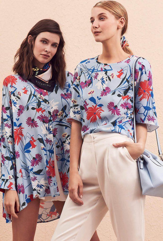 blusas estampadas primavera verano 2020 vitamina