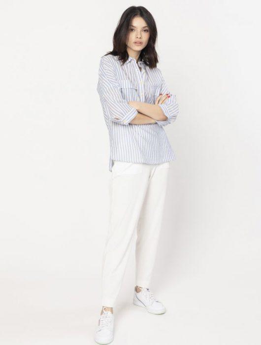 camisa mujer a rayas verano 2020 Asterisco