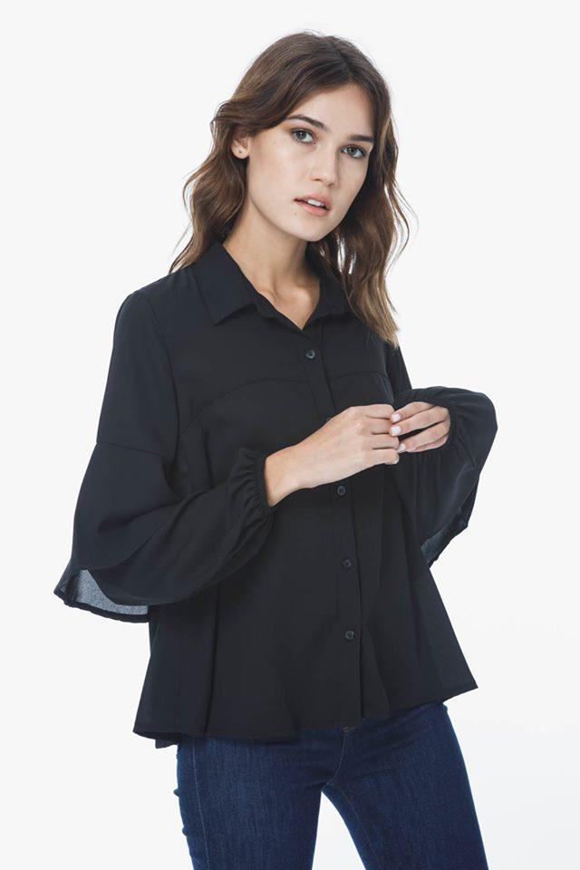 camisa mujer de gasa verano 2020 Sans Doute