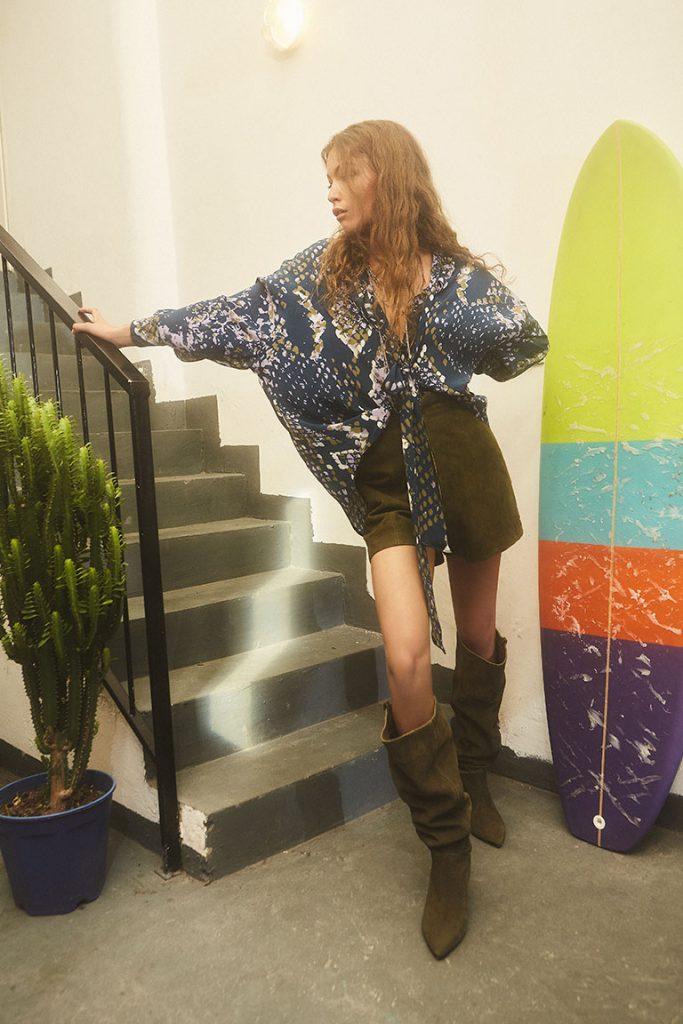 camisas estampadas mujer Maria Cher Looks de moda para mujer verano 2020