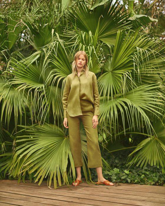 camisas y pantalones mujer Awada verano 2020