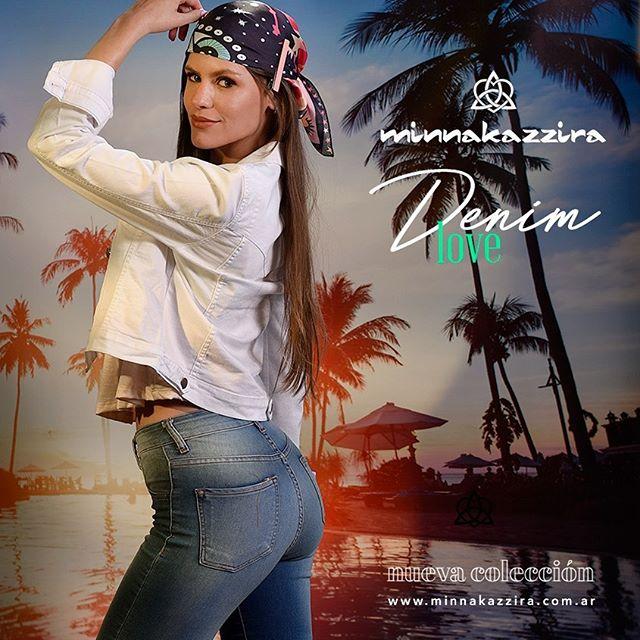 camperas y pantalones de jeans denim Minnakazzira verano 2020