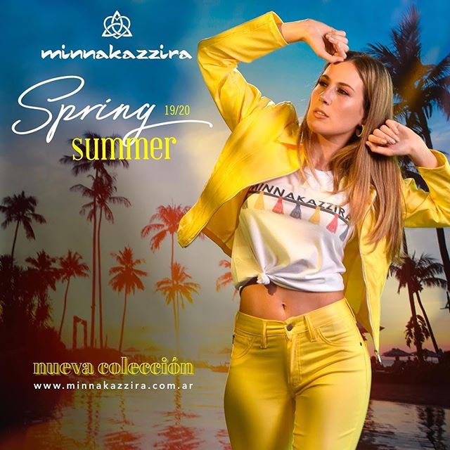 conjuntos de campera y pantalon colores Minnakazzira verano 2020
