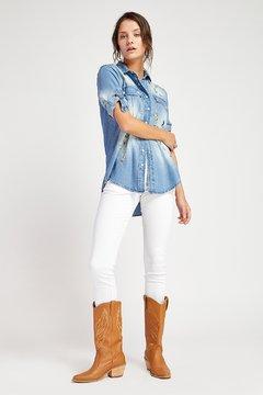 jeans blanco mujer vesna verano 2020