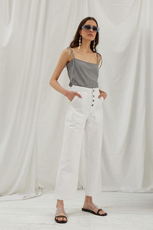 jeans blanco verano 2020 Ay Not Dead