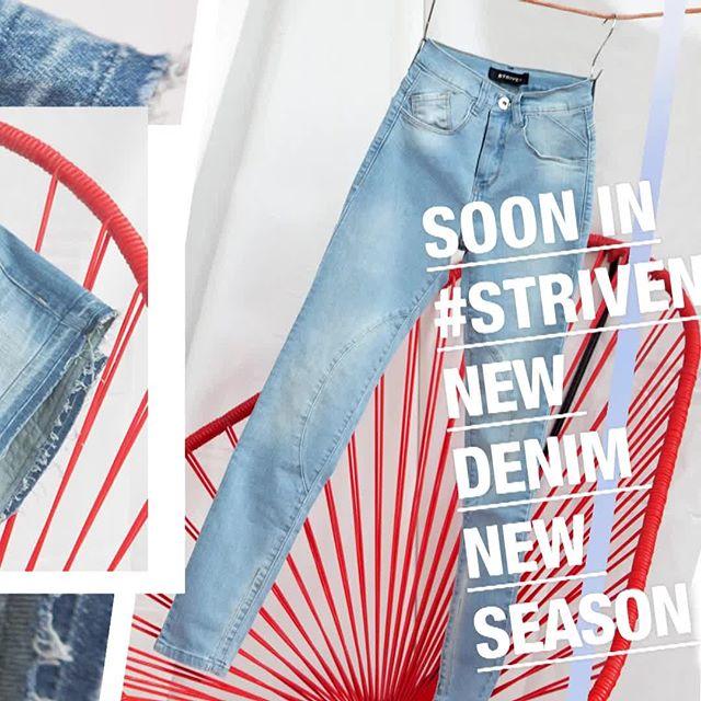 jeans claro para mujer Striven primavera verano 2020