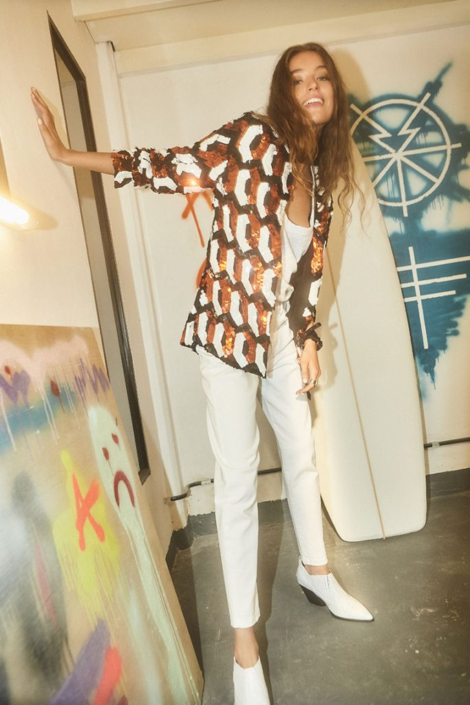 kimono estampado Maria Cher verano 2020