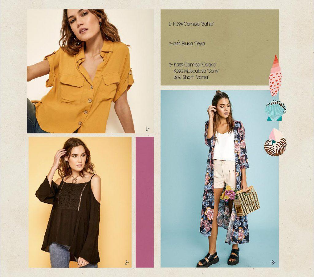 kimonos y blusas Boho chic Rimmel verano 2020