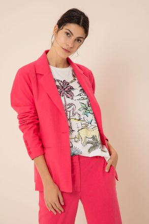 look casual con blazer mujer yagmour verano 2020