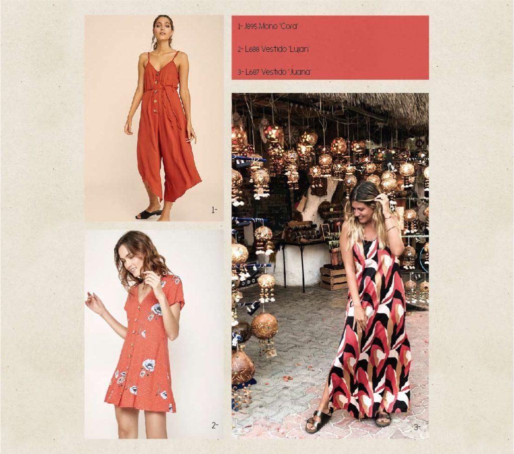 monos y vestidos para el dia Boho chic Rimmel verano 2020