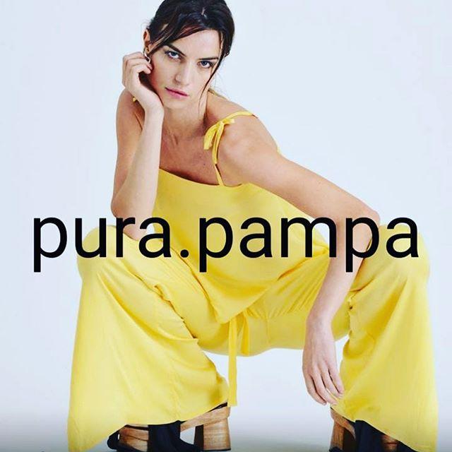 palazzo amarillo Pura pampa verano 2020
