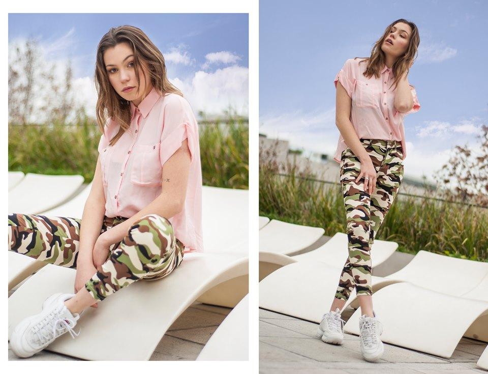 pantalon camuflado mujer Tramps verano 2020
