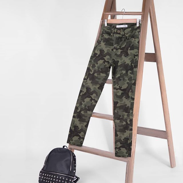pantalon camuflado mujer primavera vernano 2020 Vertu jeans