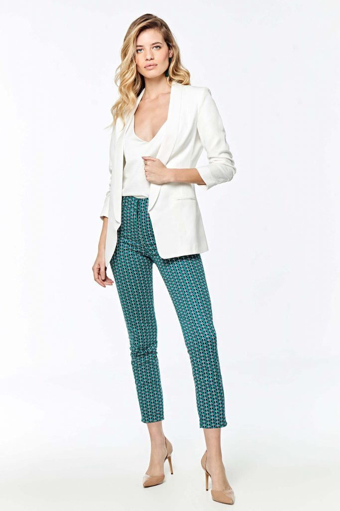 pantalon chupin estampado señoras Markova verano 2020