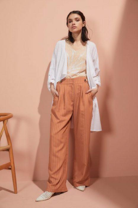 pantalon de vestir ancho Edel Erra verano 2020