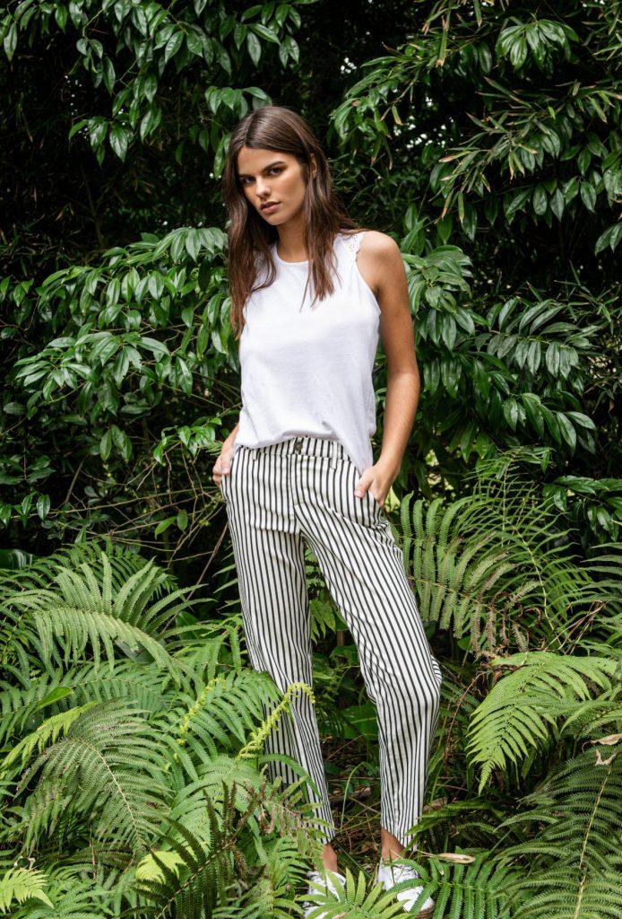 pantalones a rayas mujer Kill verano 2020