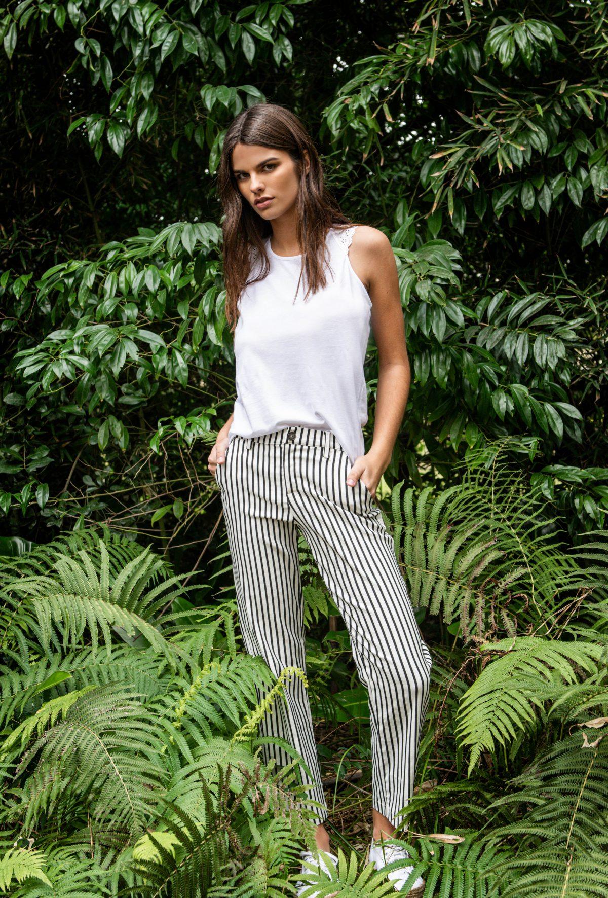 pantalones a rayas mujer Kill verano 2020 - Notilook ...