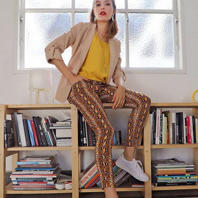 pantalones estampados mujer Brandel verano 2020