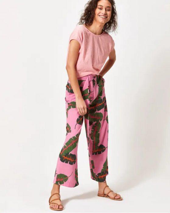 pantalones estampados para mujer primavera verano 2020 By System