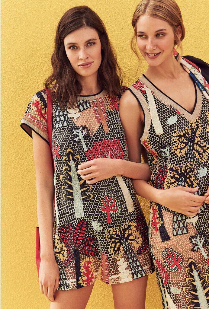 remeras y vestidos calados para la playa primavera verano 2020 vitamina