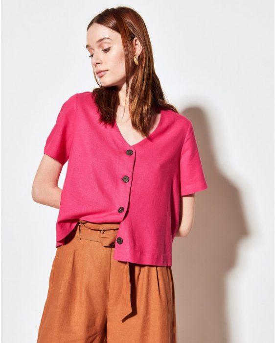 ropa de lino moderno verano 2020 Portsaid