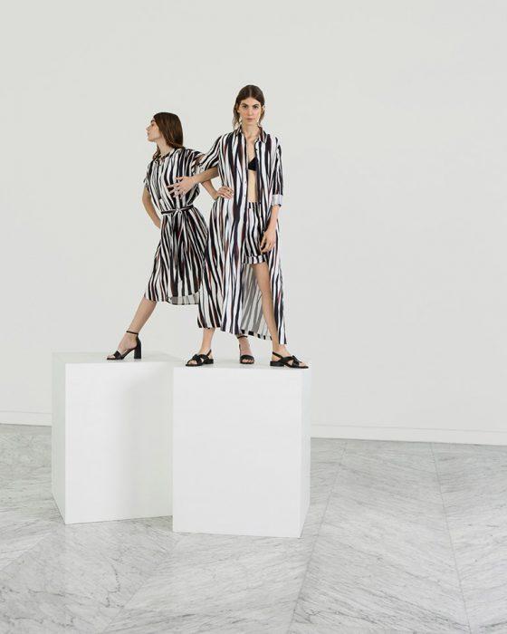 ropa estampa cebra primavera verano 2020 Etiqueta Negra