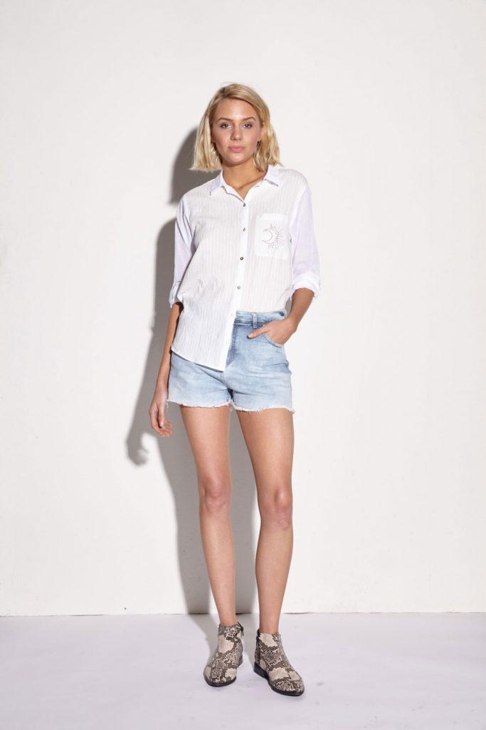 short y camisas basicas mujer Julien verano 2020