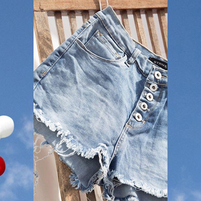 shorts denim Striven primavera verano 2020
