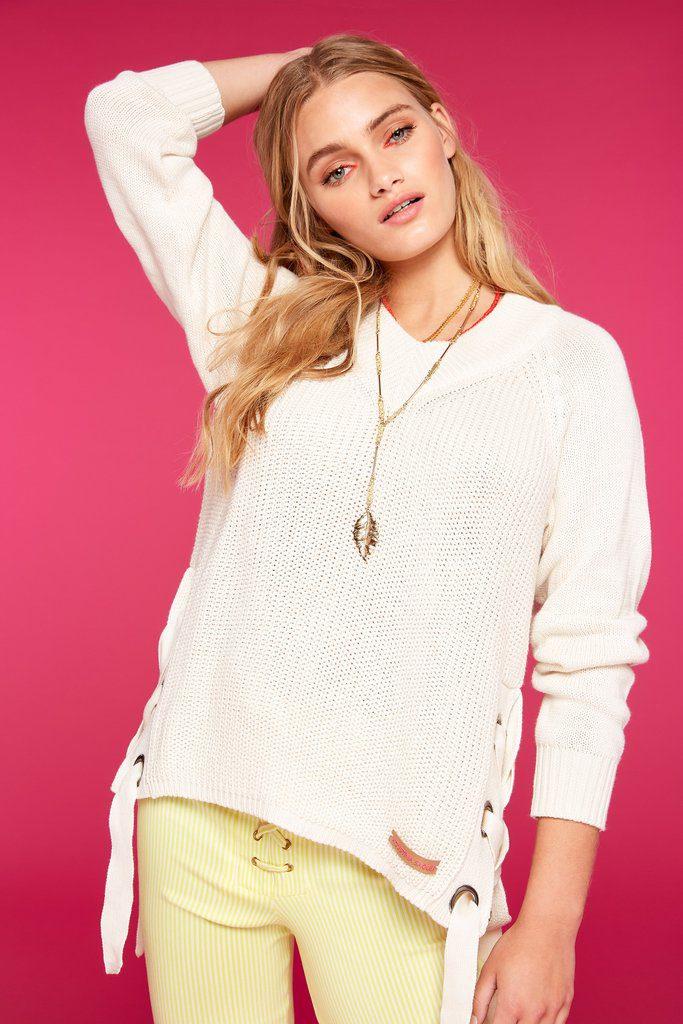 sweater liviano mujer Agustina Saquer primavera verano 2020