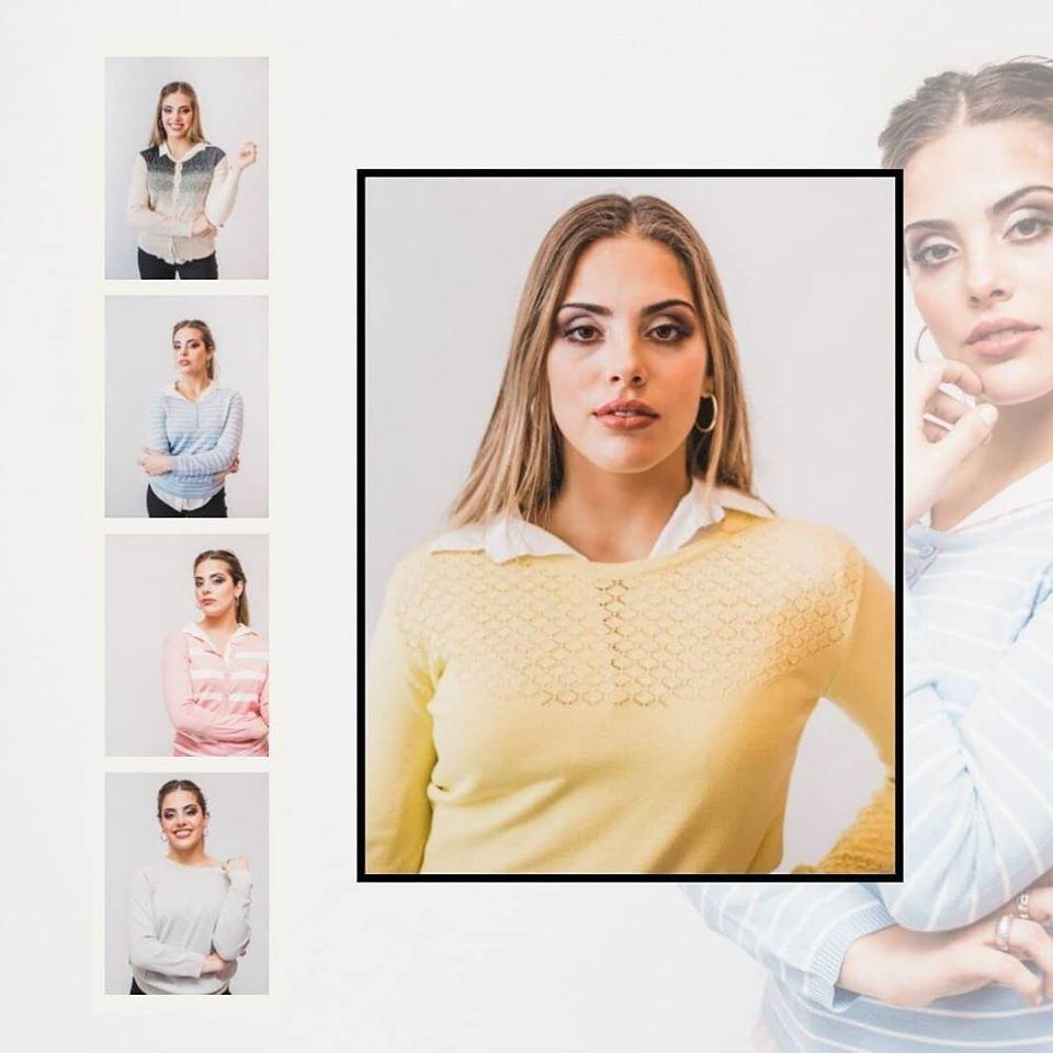 sweater y cardigan hilo mujer verano 2020 cuesta azul