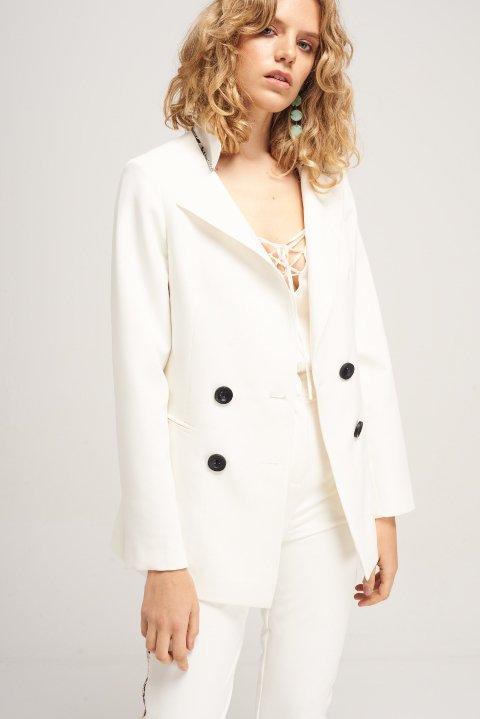 traje blanco mujer Naima verano 2020