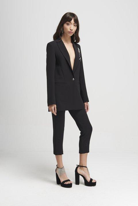 traje con pantalon chupin mujer Naima verano 2020